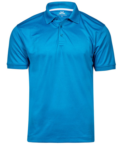 Tee Jays Performance polo T-shirt, Azure