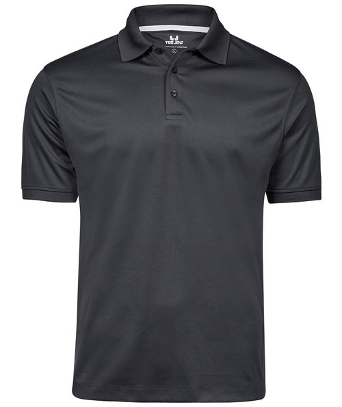 Tee Jays Performance polo T-shirt, Dark-Grey