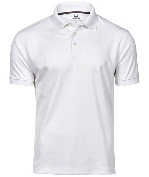 Tee Jays Performance polo T-shirt, Hvid
