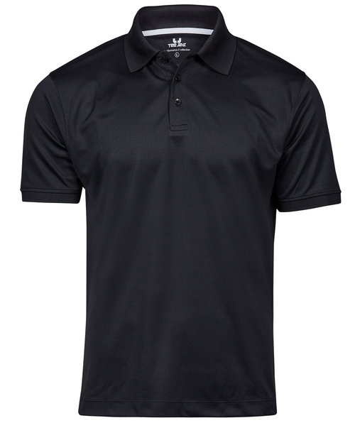 Tee Jays Performance polo T-shirt, Sort