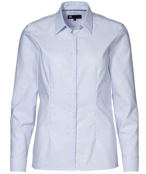 ID Oxford women's shirt , Blue/White