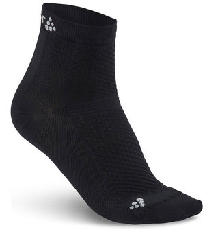 Craft Cool Mid 2-pack short socks, Black