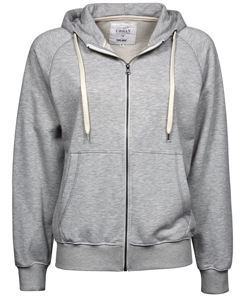 Tee Jays Urban hettegenser dame, Heather Grey