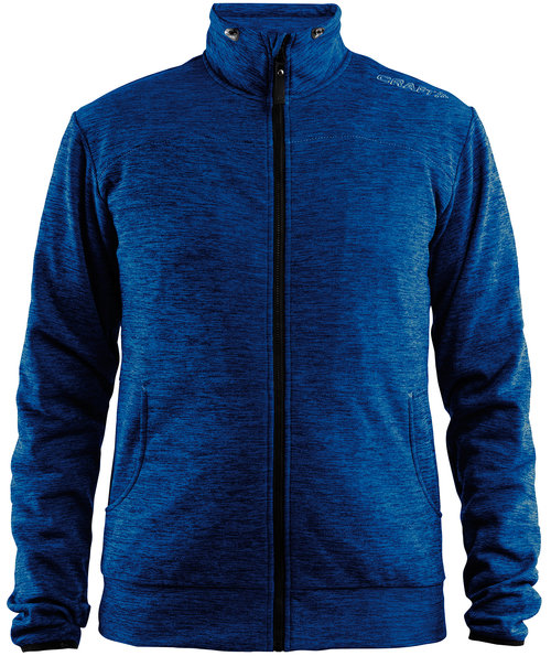 Craft Leisure sweatjacket, Deep Melange
