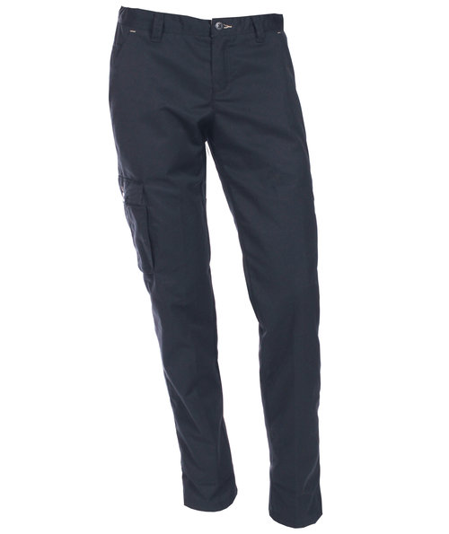 Nybo Workwear Perfect fit dame chino, Blå