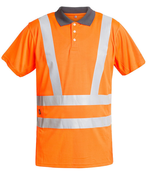 FE Engel Poloshirt, Orange