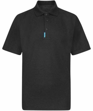 Portwest WX3 polo T-shirt, Sort