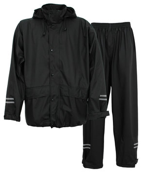 Abeko Atec Light Charlie PU rain set, Black