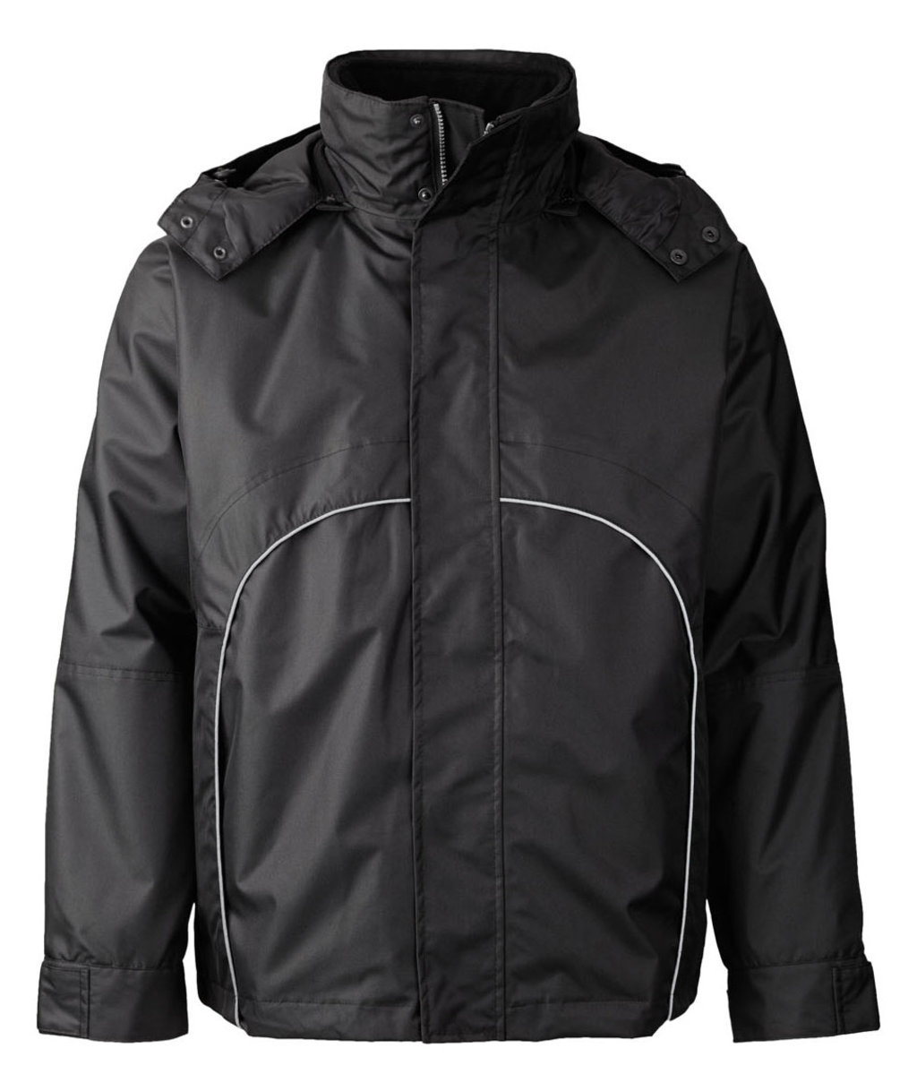 Xplor 3in1 jacket w. fleece inner jacket, Black