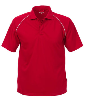 Acode Coolpass Sporty polo shirt, Red