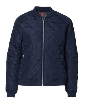 ID Casual Catalina quilted women's jacket, Marine Blue