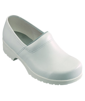 Euro-Dan clogs with heel cover O2, White