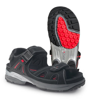Jalas Cool Sport sandaler 2552 - non-safety, Sort