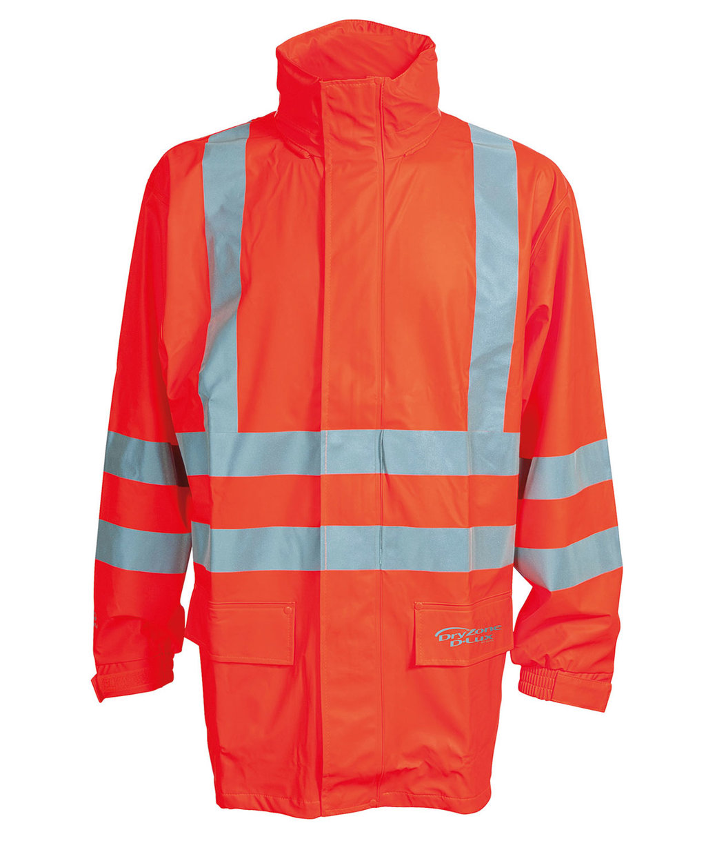 Elka Dry Zone Visible D-Lux jacka, Varsel Orange