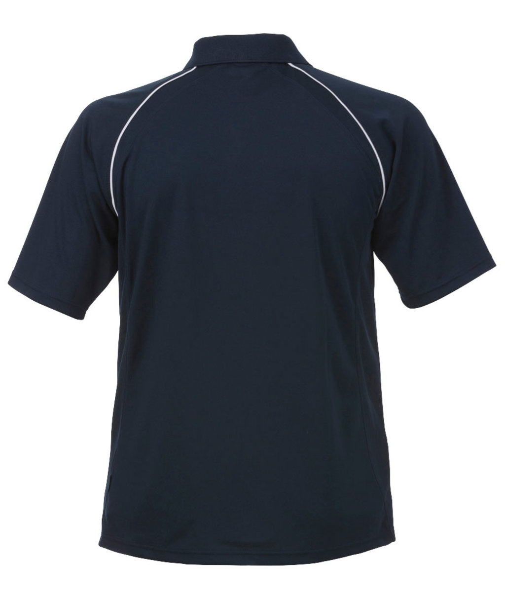 Acode Coolpass Sporty Polo T shirt, Mørk Marine