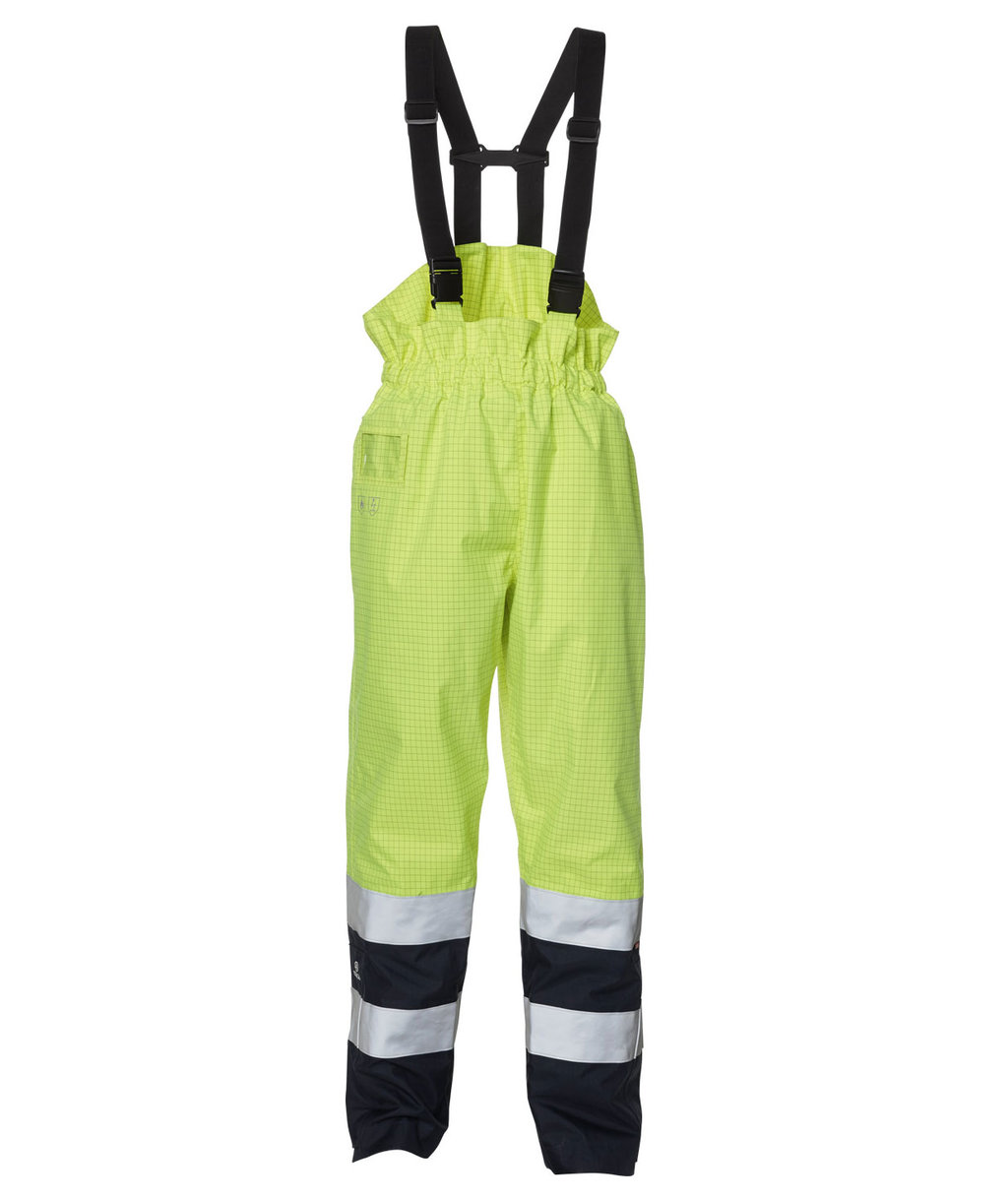 Elka Securetech Multinorm overalls, Hi-Vis Gul/Navy