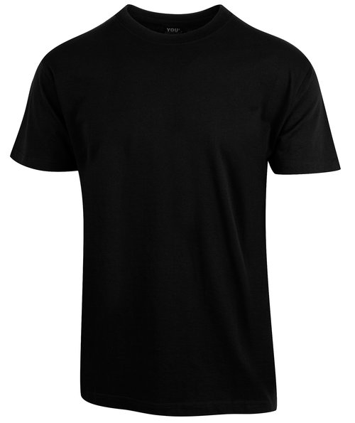 YOU Classic unisex T-shirt, Sort