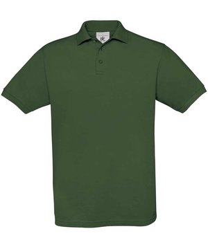 B&C Safran unisex polo T-shirt, Bottle Green