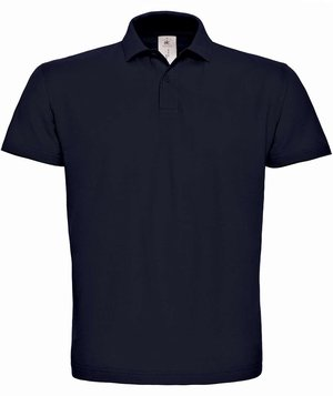 B&C ID.001 unisex polo T-shirt, Navy