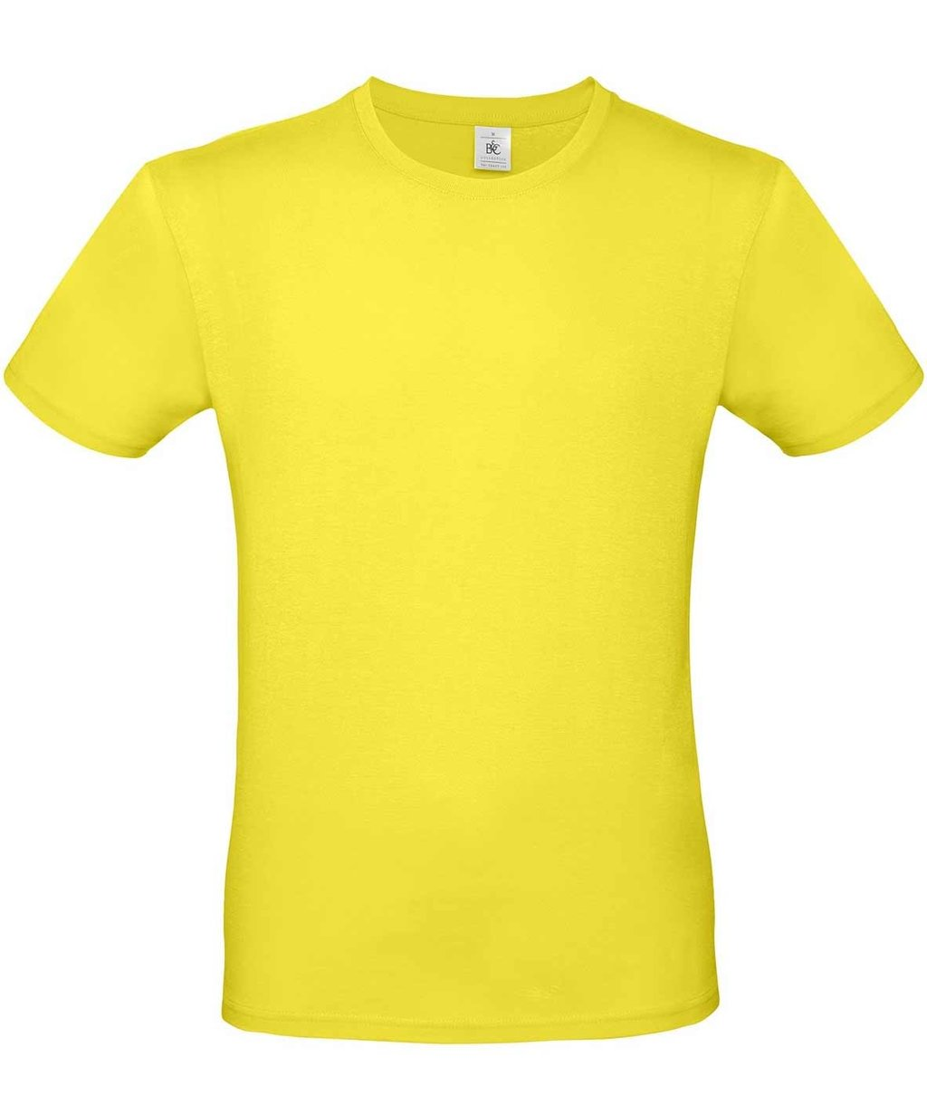 B&C #E150 unisex T-shirt, Solar Yellow