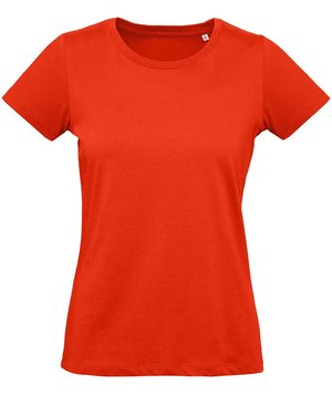 B&C Inspire Plus dame T-shirt, Fire Red