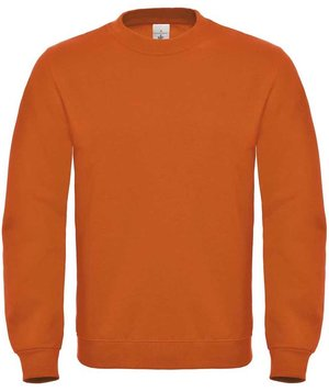 B&C ID.002 unisex collegetröja/sweatshirt, Orange