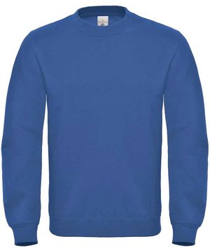 B&C ID.002 unisex collegetröja/sweatshirt, Royal blue