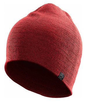 Stormtech Avalanche stretch-fit beanie, Red Melange