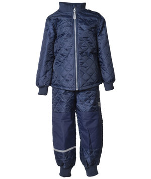 Mikk-Line thermal set for kids, Dark Marine