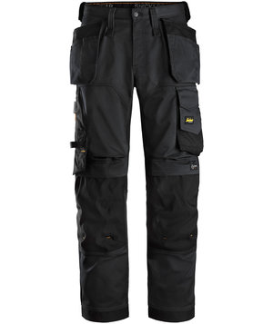 Snickers AllroundWork craftsmens trousers, Black