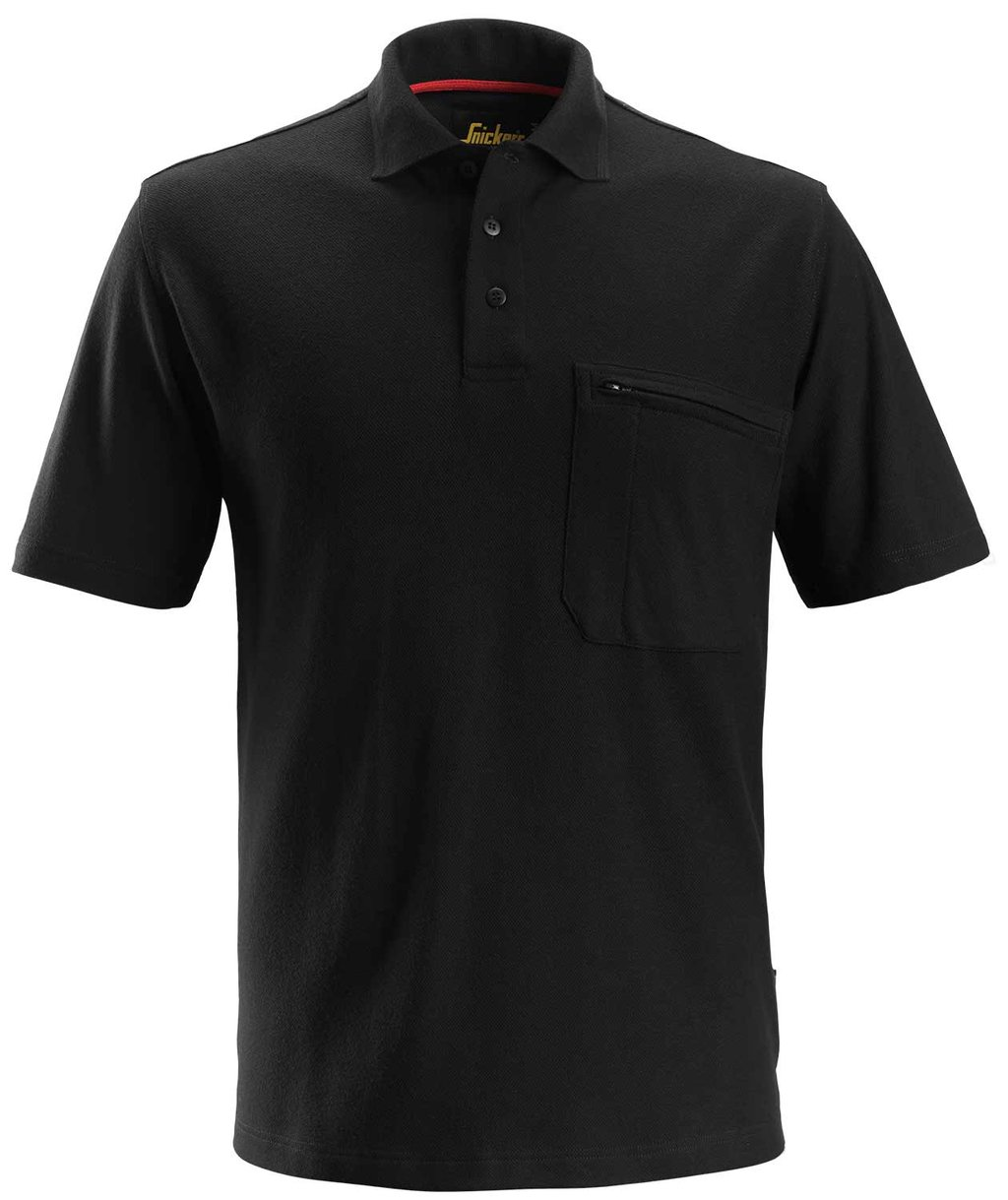 Snickers ProtecWork polo shirt, Black
