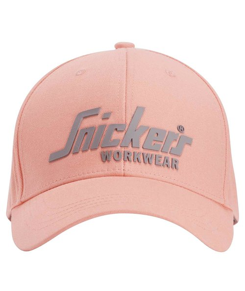 Snickers logo keps, Rosa