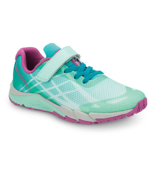 Merrell Bare Access Flex A/C sneakers till barn, Turquoise/Berry