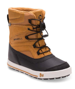 Merrell Snow Bank 2.0 vinterstövlar, Wheat/Black