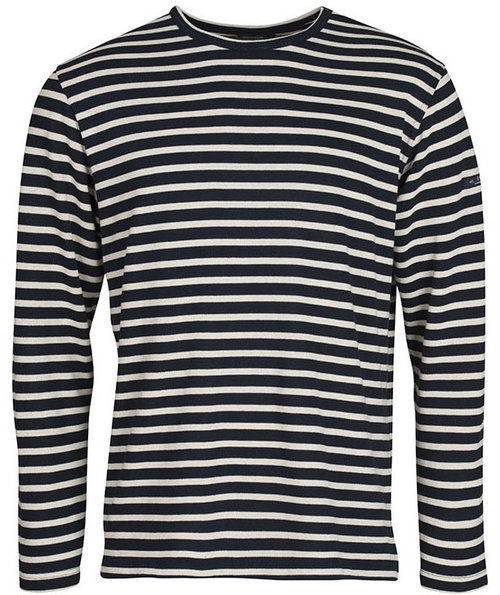 Sea Ranch Jaques langärmliges Sweatshirt, Navy/Weiß