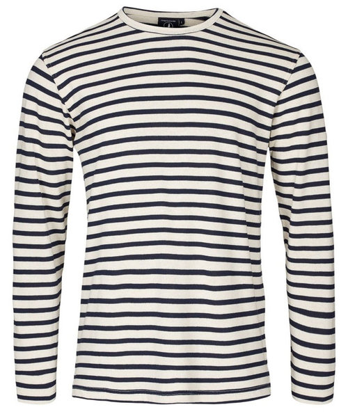 Sea Ranch Jaques langärmliges Sweatshirt, Weiß/Navy