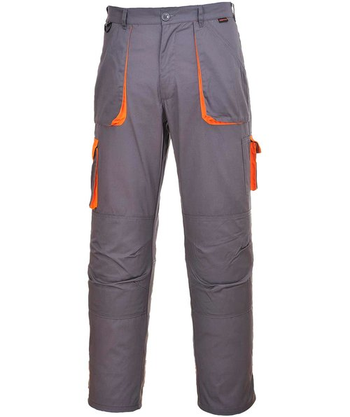 Portwest Texo Arbeitshose, Grau/Orange