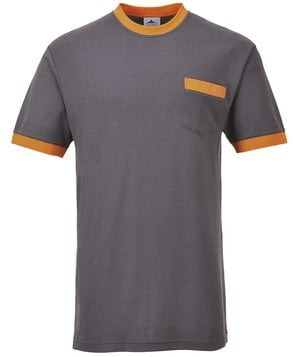 Portwest Texo T-shirt, Grå/Orange