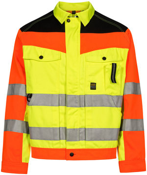 Workzone Zone arbejdsjakke, Hi-Vis Gul/Orange