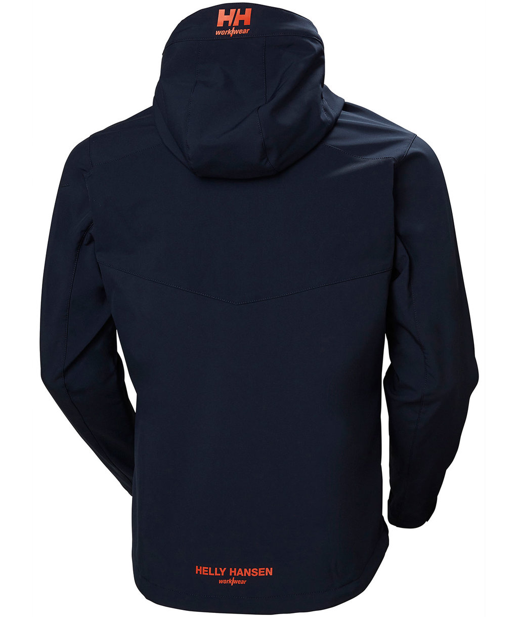 Helly Hansen WW Chelsea Evolution softshelljacka med huva, Navy
