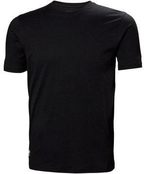 Helly Hansen WW Manchester T-shirt, 100% cotton, Black