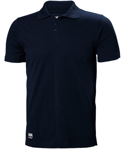 Helly Hansen WW Manchester polo T-shirt, 100% bomuld, Navy