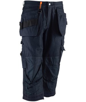 Worksafe dame knickers, 100% bomuld, Marine
