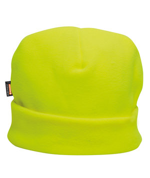 Portwest fleece hats with insulatex lining, Yellow