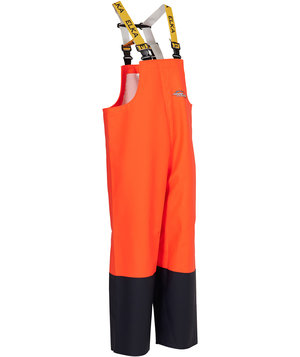 Elka Fishing Extreme PVC overall, Hi-Vis Orange/Marine