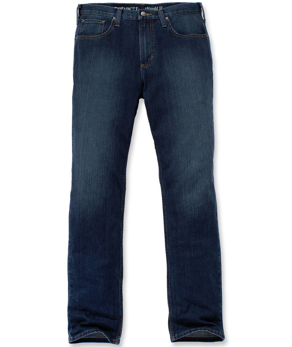 Carhartt Straight Tapered Jeans, Light Blue Chambray