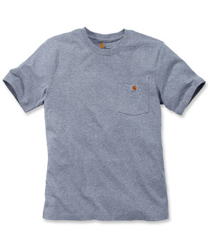Carhartt Workwear T-shirt, Heather Grey