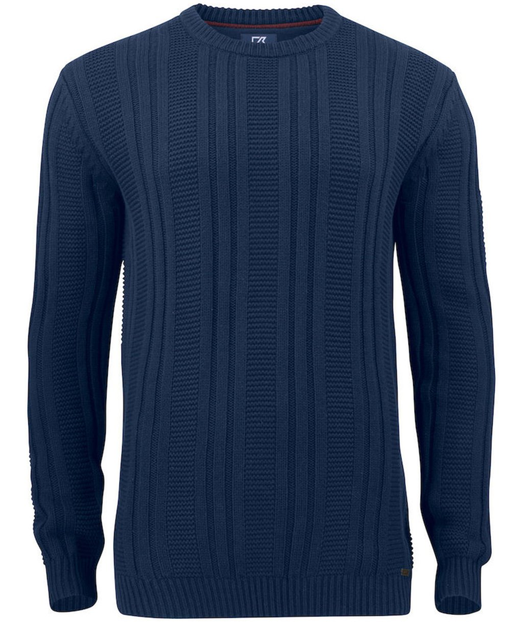 Cutter & Buck Elliot Bay strikk sweater, Dark Navy
