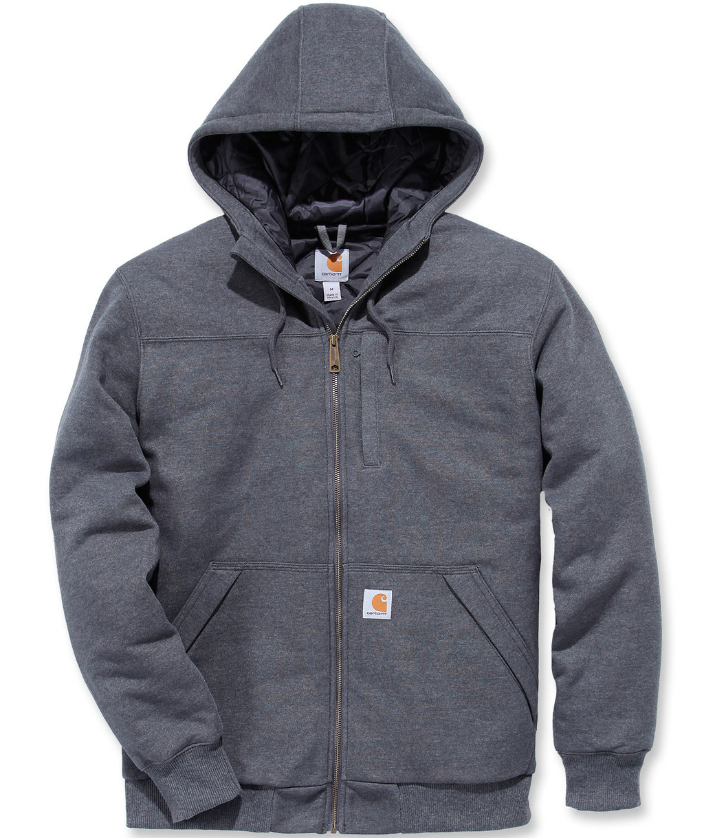 Carhartt Rockland hættetrøje, Carbon Heather