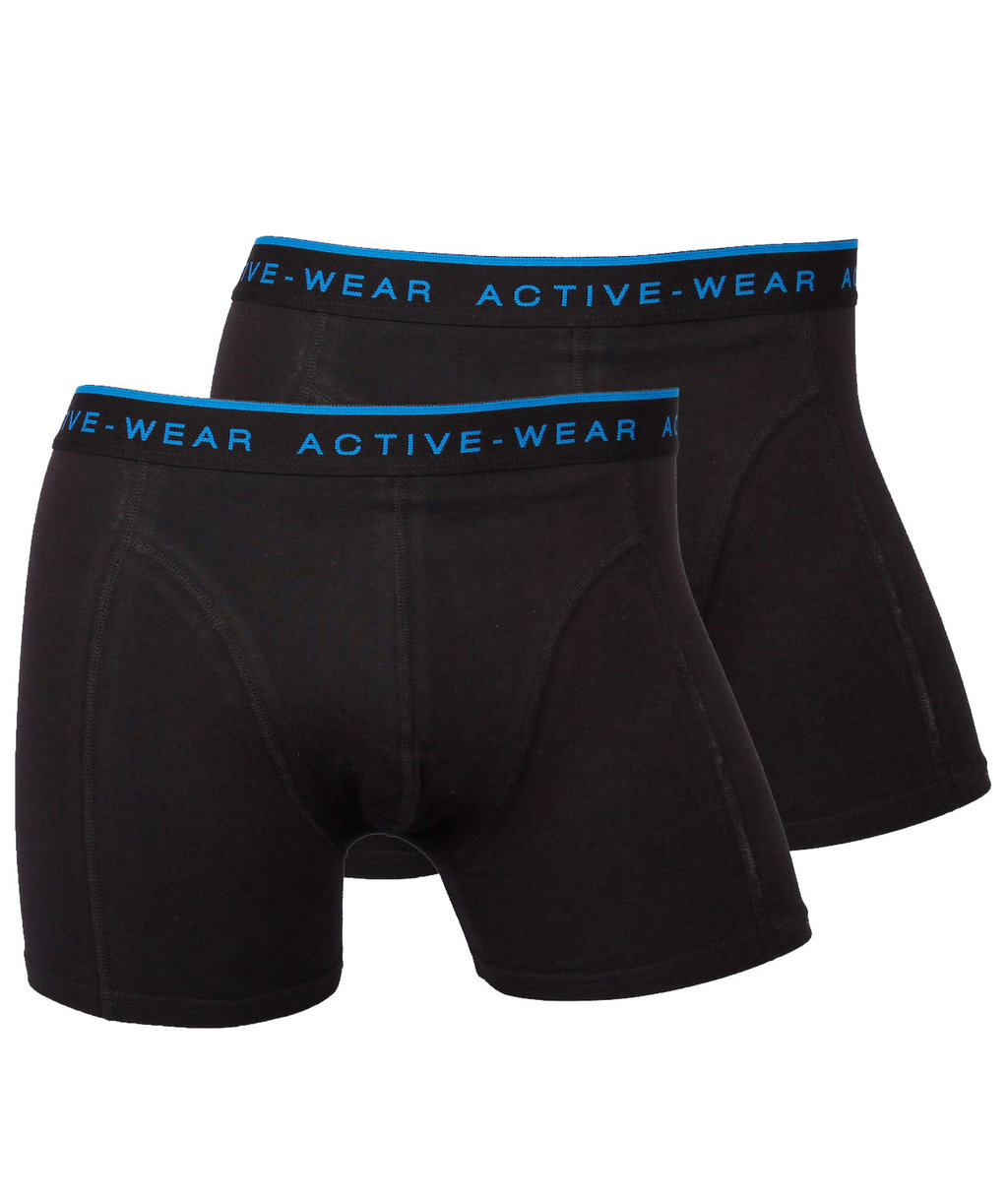 Active-wear 2-pack kalsong, Svart